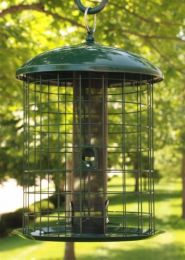 Caged Squirrel Resistant Mesh Screen Feeder