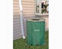 Rain Barrel with Diverter Valve & Extension Hose, 60 gallons