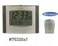 Wireless Atomix Clock Thermometer with Sensor